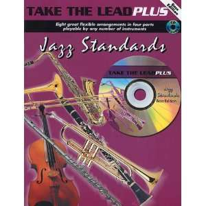 Take the Lead Plus: Jazz Standards Book & CD Bass Clef