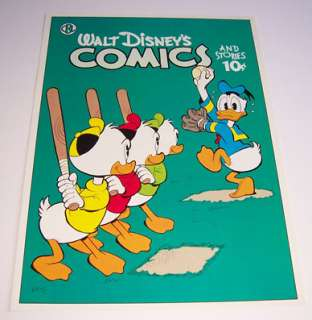 DONALD DUCK LOT OF 5 CARL BARKS 1950s COMIC BOOK COVERS