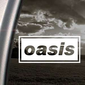 Oasis Decal English Rock Band Truck Window Sticker