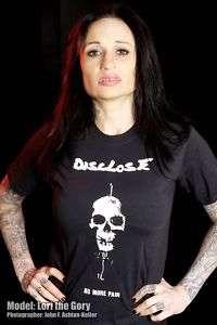DISCLOSE T shirt NO MORE PAIN PUNK CRUST D BEAT JAPAN