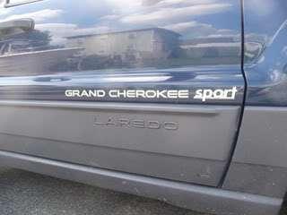 Sport Car Truck badge emblem decal trunk side 3D Logo