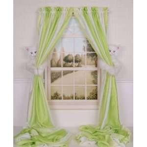 Curtain Critters Plush Best Friends White Kitty Cat