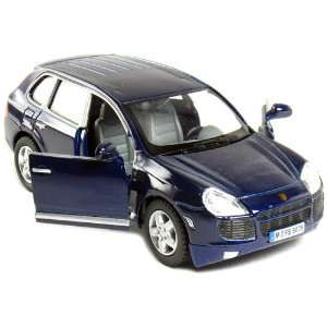 Set of 12 Cars: 5 Porsche Cayenne Turbo 1/38 Scale, Pull