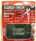 Swiss Tech Micro Plus aRMY Key Chain Pocket Multi Tool