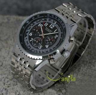 Swiss Luxury AUTO Mechanical Mens Multi Function Watch