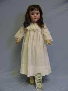 109 Handwerck Halbig brown sleep eyes antique Clothes SWEET