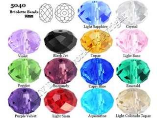 100pcs Color Optional Swarovski Crystal 5040 4mm beads