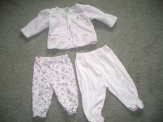 40 pcs HUGE BABY GIRL CLOTHES LOT SZ 6 18MON GYMBOREE, CALVIN KLEIN