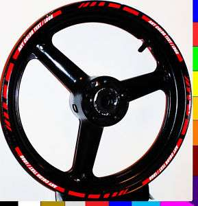 RIM STRIPE WHEEL DECAL TAPE STICKER SV650 S SV1000 S SV