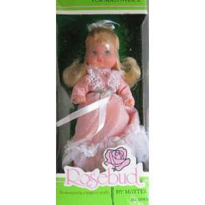 Vintage ROSEBUD Doll BABY DARLING ROSE by Mattel (1976 Mattel