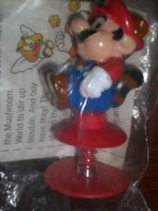 OF 3 MC DONALDS NINTENDO SUPER MARIO BROS. HAPPY MEAL TOYS_NIW