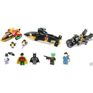 com Batman Bruce Joker Set 7885 & 7886 Lot 7 fig LEGO® Toys & Games