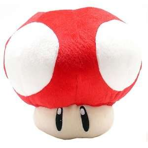 Super Mario Brothers Red Mushroom 8 inch Plush Office