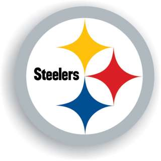 Pittsburgh Steelers Helmet Logo 12 Vinyl Car Magnet
