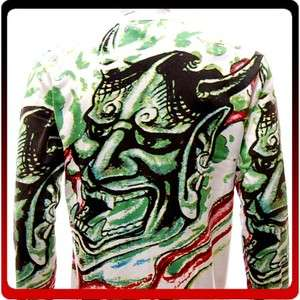 ls6 Sz M Demon Devil Japanese Irezumi Hannya Mask Street Tattoo Art LS