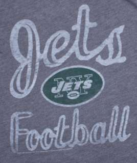 New York Jets Thermal Junk Food Vintage Graphic Ladies T Shirt