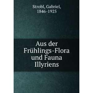 Flora und Fauna Illyriens: Gabriel, 1846 1925 Strobl: Books