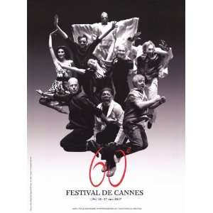 Cannes Film Festival Movie Poster (11 x 17 Inches   28cm x