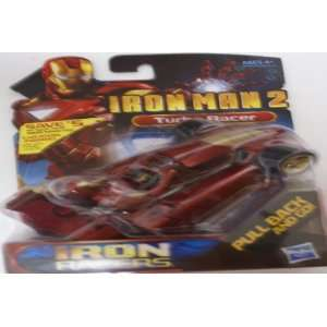 Iron Man 2 Movie Iron Racers Vehicle Street Racer Toys & Games