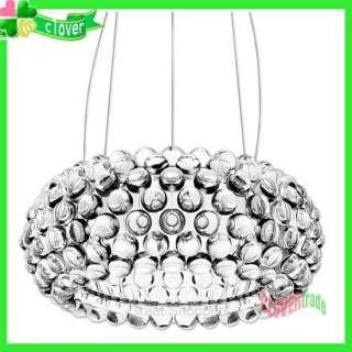 Modern Caboche Acrylic Ball Ceiling Light Pendant Lamp