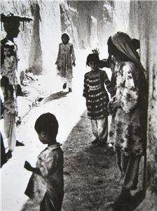 AFGHANISTAN, KANDAHAR STREET SCENE, ETHNIC COSTUME RPPC