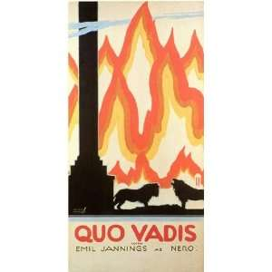 Quo Vadis by Unknown 11x17: Office Products