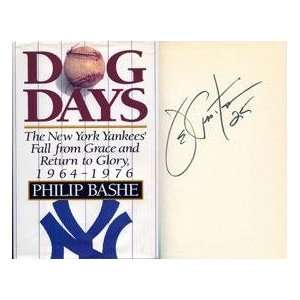 Joe Pepitone Autographed Dog Days Book   Autographed MLB