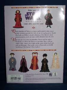 Star Wars Episode I 1 Queen Amidala Paper Doll Book New 9780375800207
