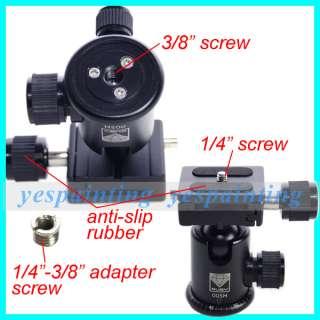 ... Head; SLR Camera Ballhead Quick release Plate For Canon Nikon Pentax ...