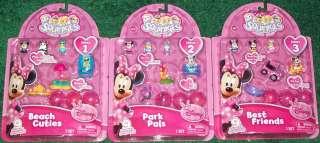 Disney SQUINKIES Snow White Ariel Cinderella Belle Sets