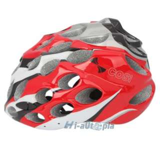 New Cool EPS PVC 39 Vents Sports Bike Bicycle Cycling Red Helmet