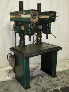 POWERMATIC 2 SPINDLE DRILL PRESS 18