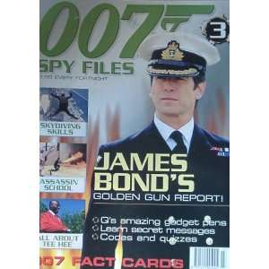 Spy Files 007 James Bond magazine Issue 3 James Bond 007