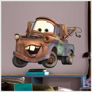 Disney Cars Giant MATER WALL DECAL Stickers Kids Decor 034878034997