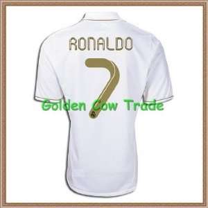 ronaldo real madrid jersey 11/12+customize name  Sports