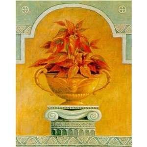 Jarrones Con Plantas Ii by Javier Fuentes. Size 11.50 X 14