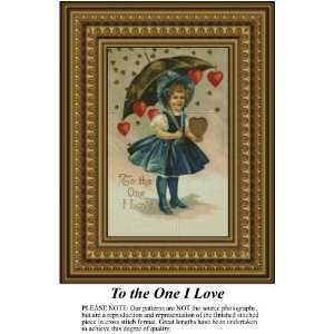 To the One I Love, Cross Stitch Pattern PDF Download