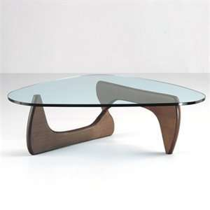 Fine Mod Imports FMI1119 Walnut Tribeca Coffee Table Home