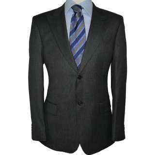 1995 NWT LORO PIANA 130S WOOL DARK GRAY MENS SUIT