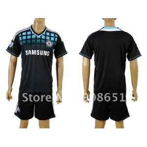 11 12 chelsea away long sleeve high quality football soccer jerseys