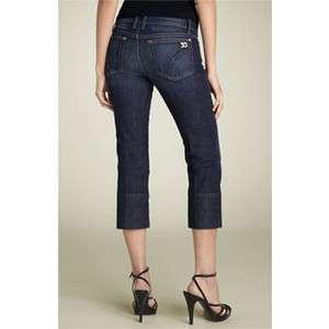 NEW Joes Jeans Socialite Kicker Dark Denim Capri Jean Gigi Wash w