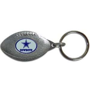 Dallas Cowboys NFL Football Shaped Key Chain Sports
