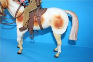 LONE RANGER action FIGURE TONTO + his horse SCOUT in a nice condition