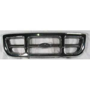 98 00 FORD RANGER GRILLE TRUCK, 4WD XLT Model, Chrome/Gray