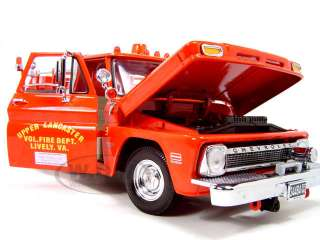 1965 CHEVROLET C 20 FIRE TRUCK 1/18 DIECAST CAR MODEL