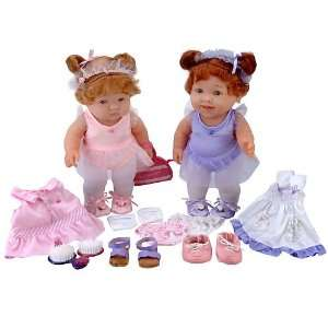 JC Toys Lots to Love Baby Steps Best Friends Gift Set Two