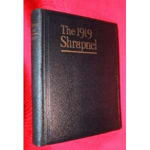 THE SHRAPNEL FOR 1919 The Year Book of the New York Military Academy