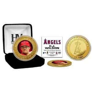 CJ Wilson Angels Gold Coin: Sports & Outdoors