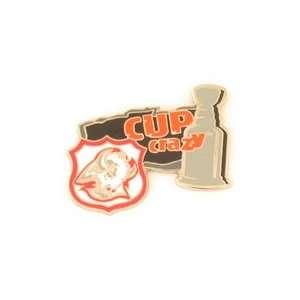 Hockey Pin   Buffalo Sabres NHL Cup Crazy Pin
