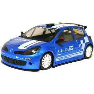 NSR   Clio Cup Blue #3 Slot Car (Slot Cars) Toys & Games